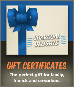Get a Charcoal Delights gift certificate